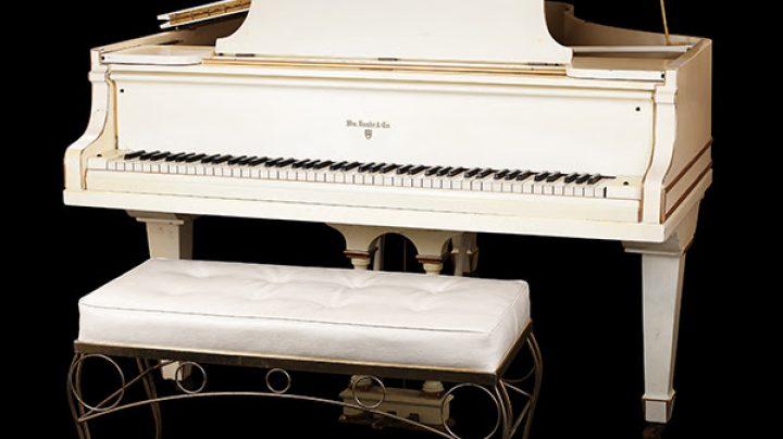 Piano de Elvis Presley.