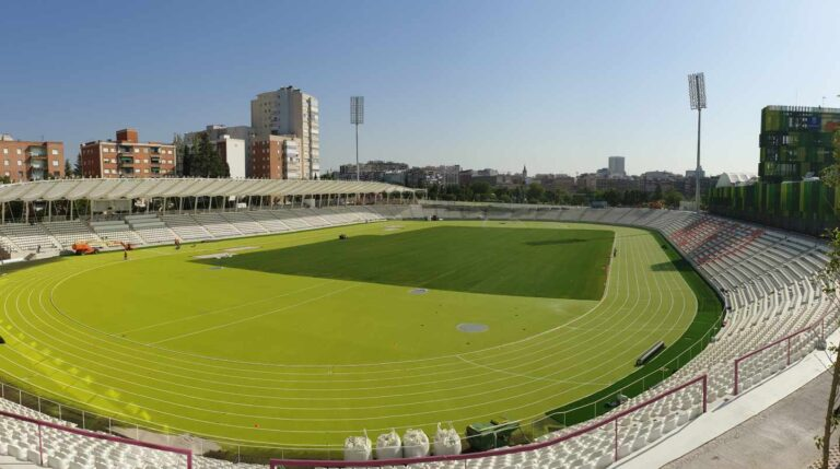 El nuevo estadio de Vallehermoso   RFEA