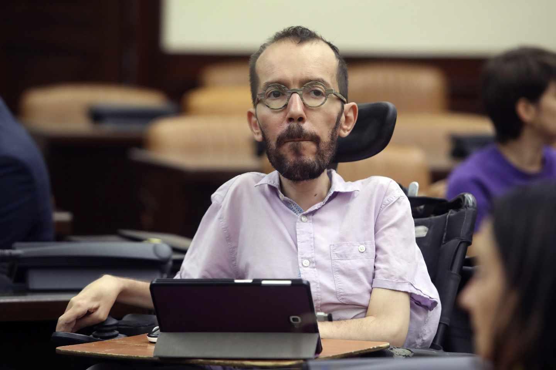 El secretario de Acción de Gobierno de Podemos, Pablo Echenique