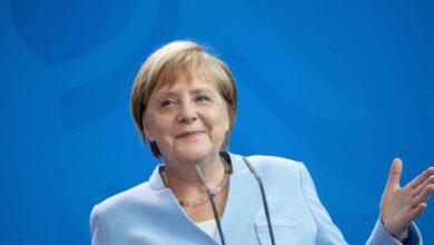La canciller Angela Merkel, galardonada con el Premio Europeo Carlos V