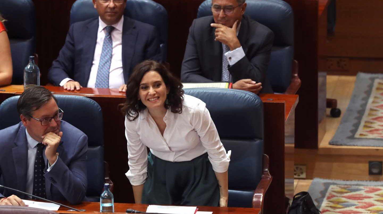 La recién elegida nueva presidenta de la Comunidad de Madrid, Isabel Díaz Ayuso.