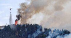 Un nuevo incendio obliga a desalojar varios núcleos de Gran Canaria