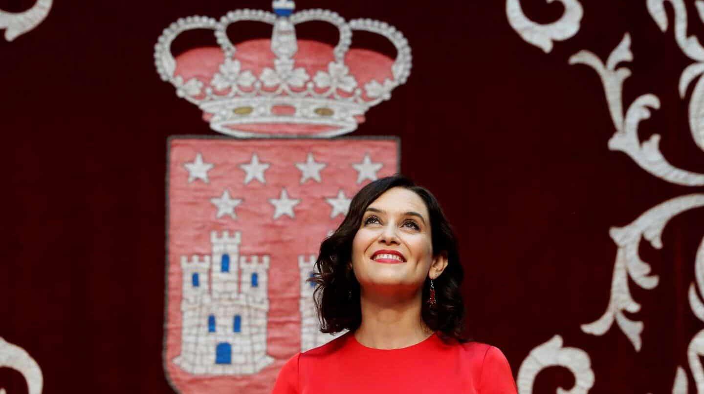 La recién elegida nueva presidenta de la Comunidad de Madrid, Isabel Díaz Ayuso