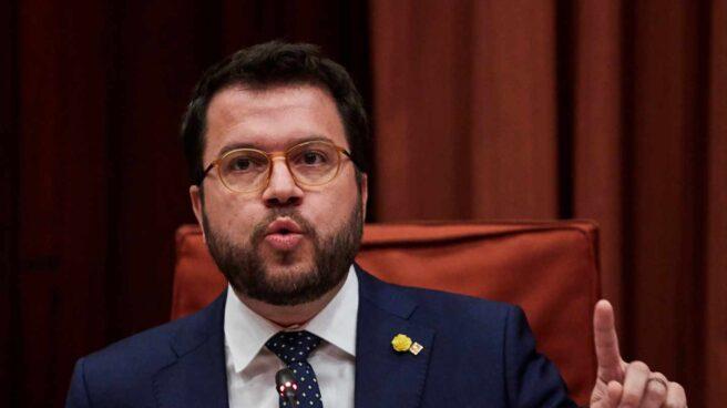 El vicepresidente del Govern y conseller de Economía y Hacienda de la Generalitat, Pere Aragonés
