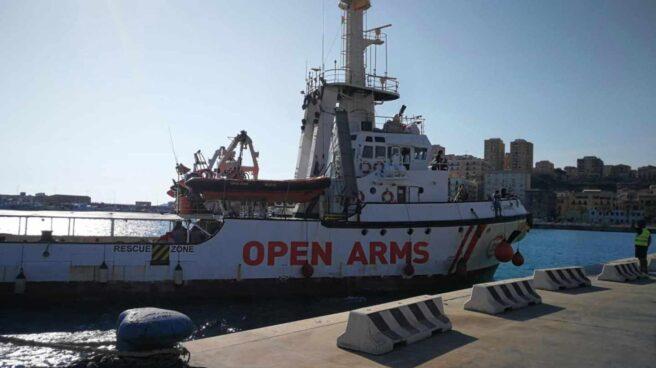 El barco humanitario Open Arms.