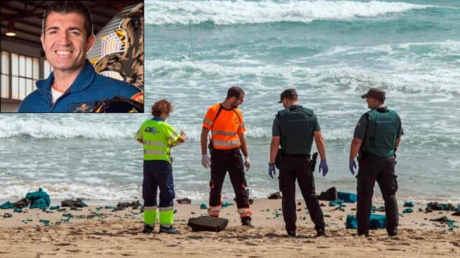 Francisco Martín Núñez, piloto del Ejército del Aire fallecido tras un accidente de avión en el Mediterráneo.