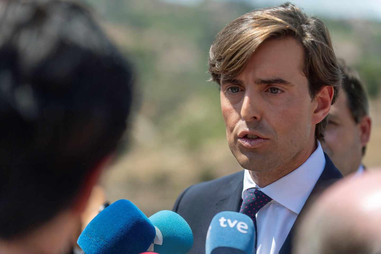 El vicesecretario de Comunicación del Partido Popular, Pablo Montesinos.