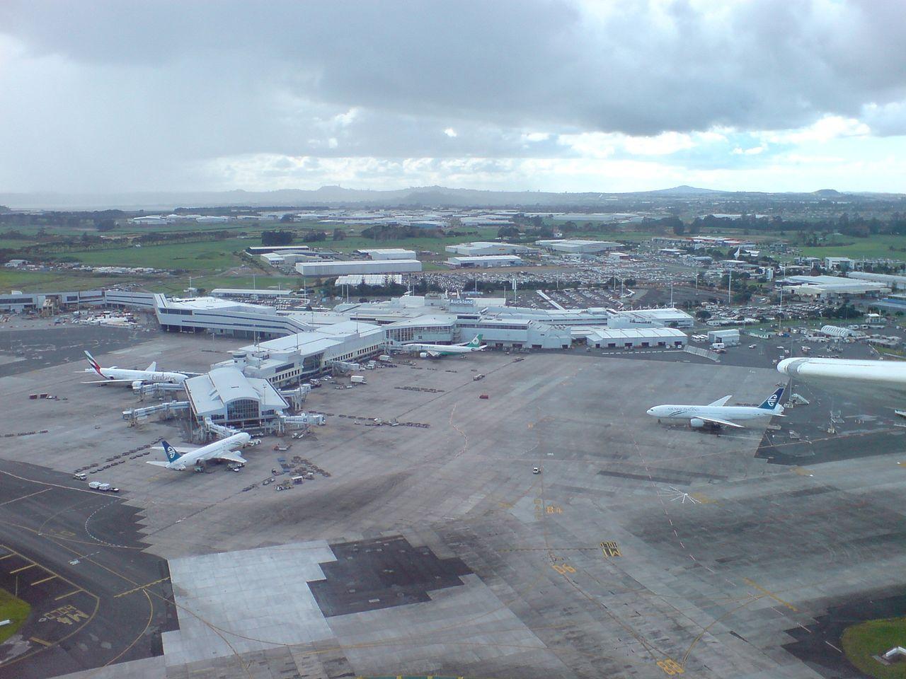 Aeropuerto de Auckland.