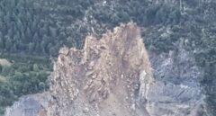Una avalancha en Andorra deja cortada la carretera general 1 que da acceso a España