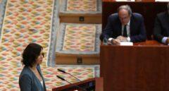 """Díaz Ayuso promete """"la mayor rebaja fiscal de la historia"""" con el apoyo de Cs y Vox"""