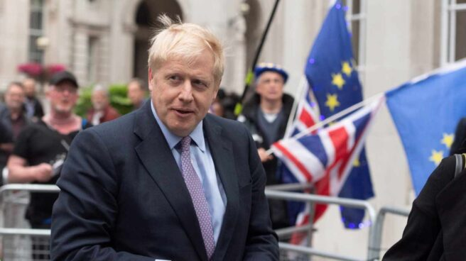 Boris Johnson, primer ministro británico y feroz defensor del Brexit.