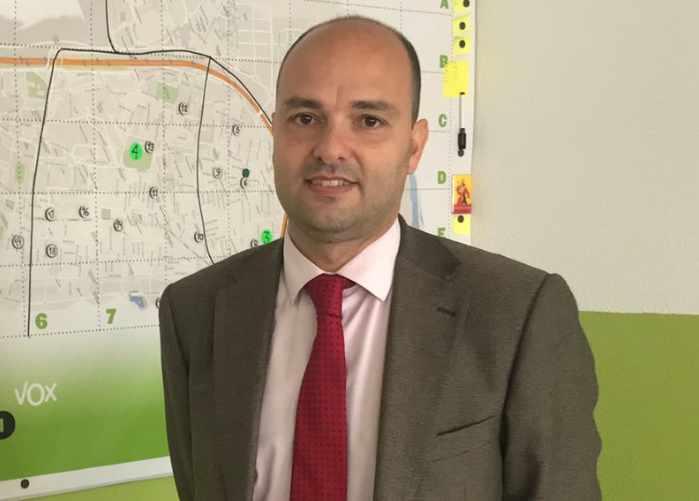 Gonzalo Polavieja, concejal de Vox en Sevilla.
