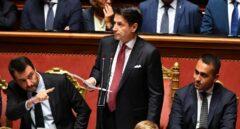 "Conte dimite como primer ministro y echa la culpa de la crisis al ""oportunista"" Salvini"