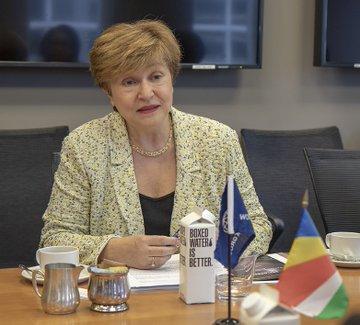La consejera delegada del Banco Mundial, Kristalina Georgieva.