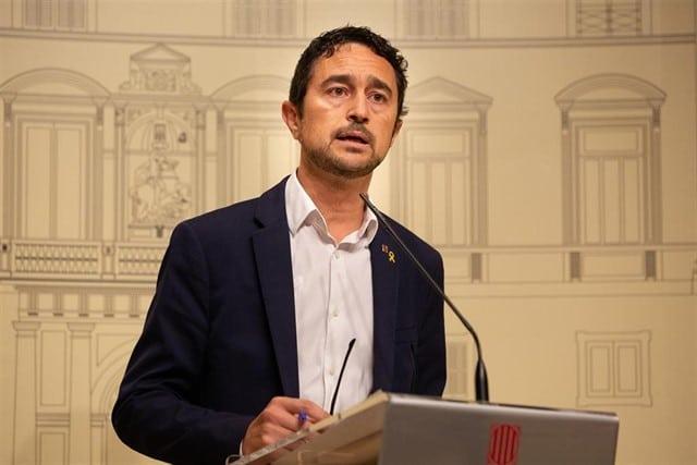 El conseller de Territorio y Sostenibilidad, Damià Calvet