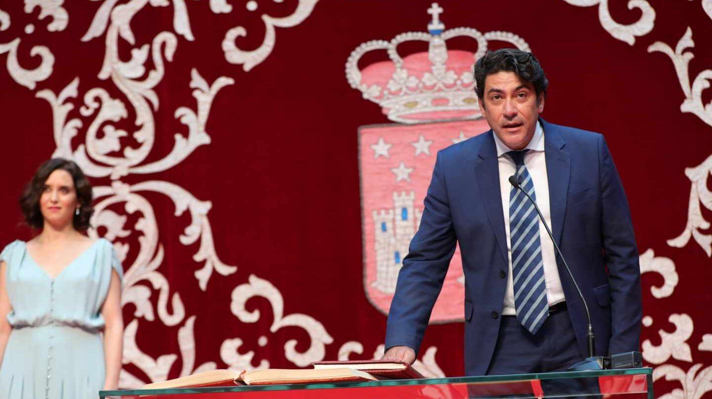David Pérez, nuevo consejero de Vivienda de la Comunidad de Madrid