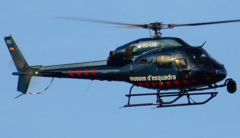 Helicóptero Mossos d'Esquadra