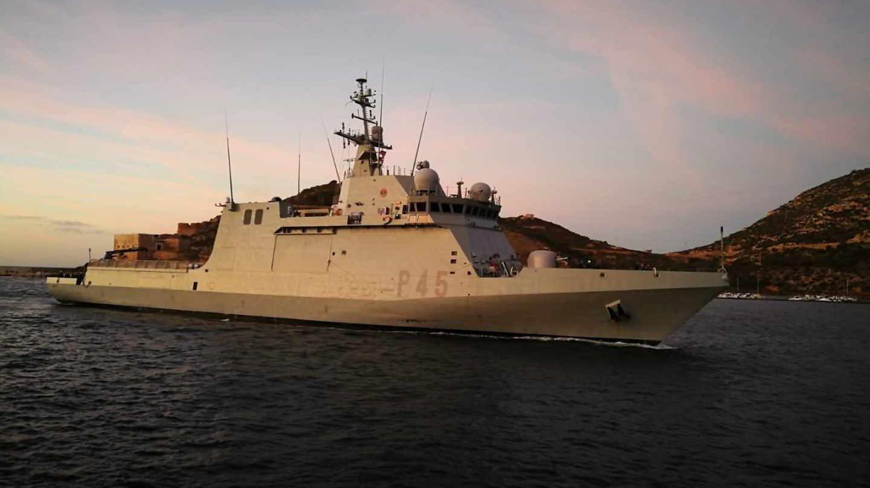 El buque de la Armada 'Audaz'.