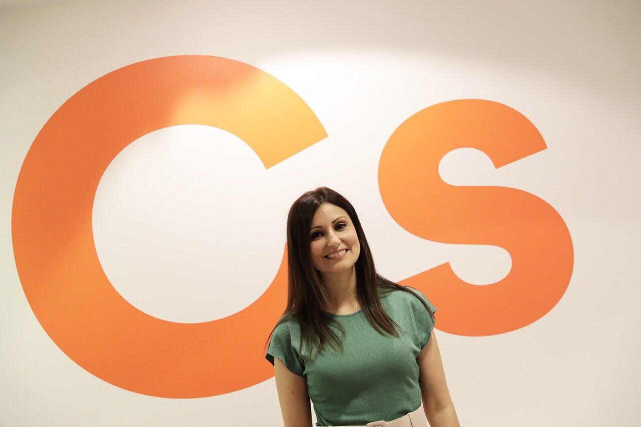 La líder de Cs en Catalunña, Lorena Roldán.