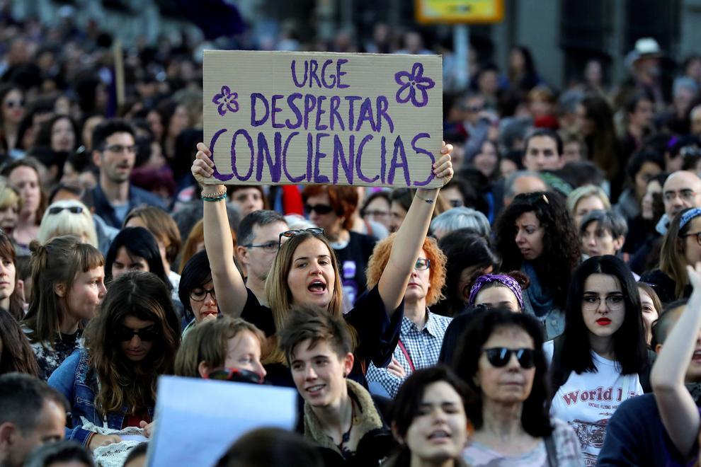 Imagen de archivo de una manifestación feminista