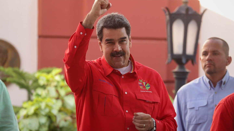 El líder del régimen chavista, Nicolás Maduro, en el reciente Foro de Sao Paul