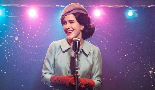 """Fotograma de la serie """"La maravillosa señora Maisel"""", de Amazon Prime Video"""