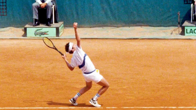 """John McEnroe en un fotograma de """"Buscando la perfección"""""""