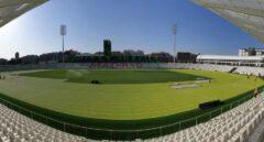 Panorámica del nuevo estadio Vallehermoso   RFEA