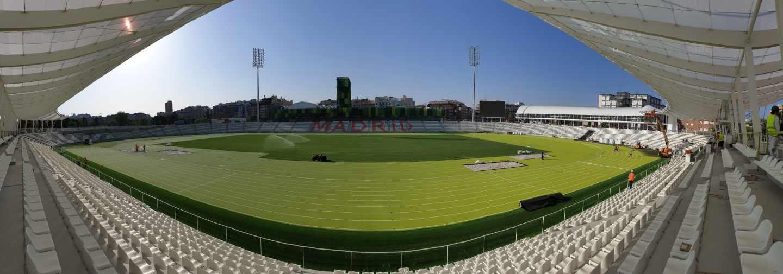 Panorámica del nuevo estadio Vallehermoso | RFEA