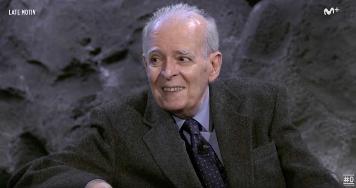 Ruiz de Gopegui, en una entrevista en el programa 'Late Motiv' de Movistar.
