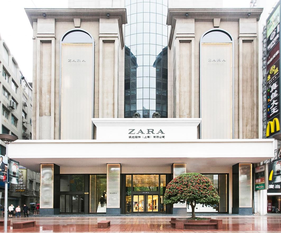 Tienda de Zara en Shanghai.