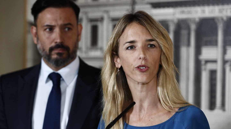 Cayetana Álvarez de Toledo, este martes en el Congreso de los Diputados.