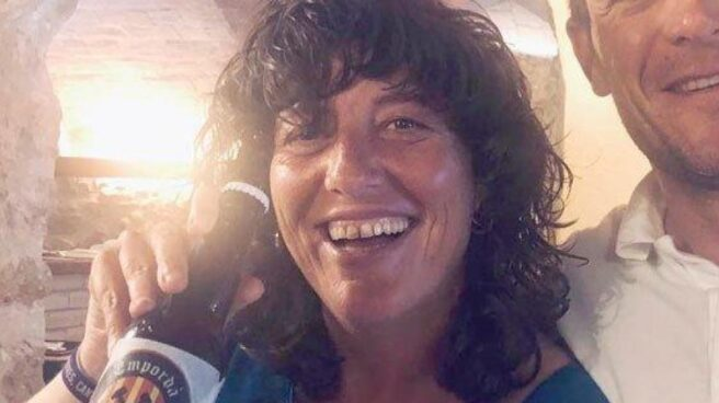 La consejera de Agricultura de la Generalitat, Teresa Jordà, en la polémica imagen que colgó en redes.