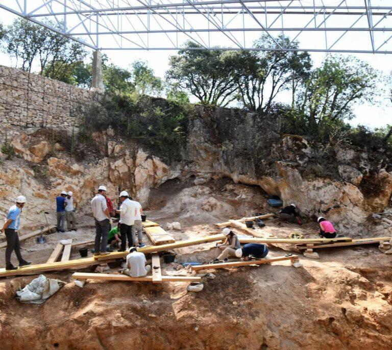 """Hallan restos de una """"carnicería"""" de hace 20.000 años en Murcia"""
