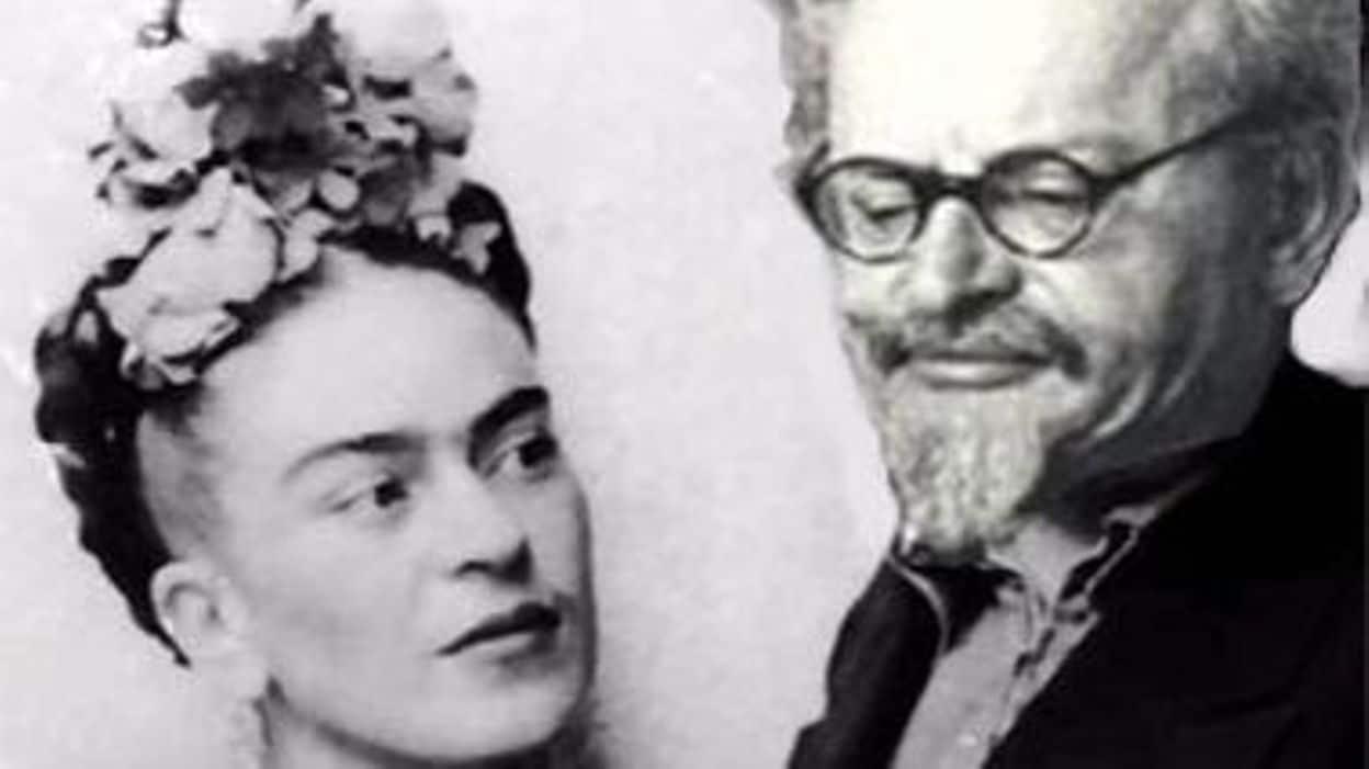 Imagen de Frida Kahlo y León Trotsky