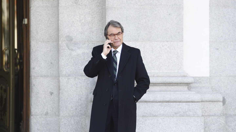 El ex presidente de la Generalitat, Artur Mas.