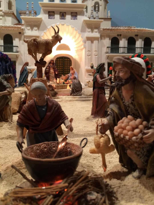Belén navideño de Huétor Tájar
