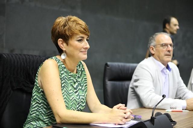 La portavoz de EH Bildu, Bakartxo Ruiz.