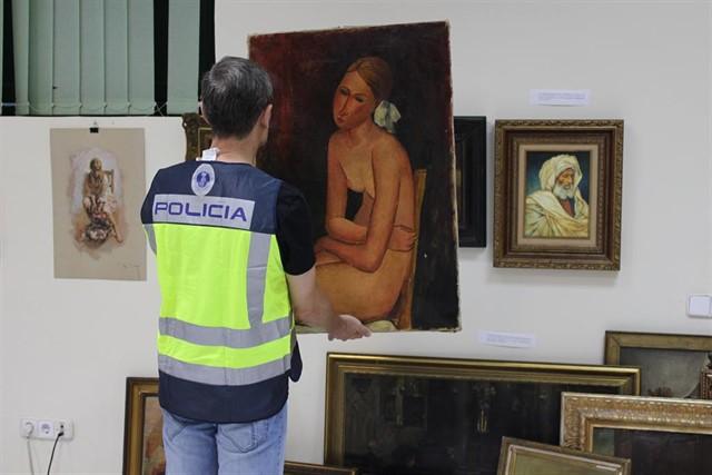 El lienzo fue puesto a la venta por un anticuario