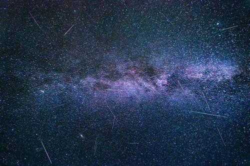 Una espectacular lluvia de estrellas se podrá apreciar en los próximos días
