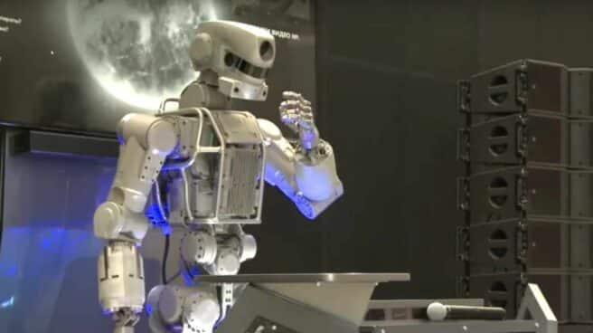 Rusia envía un androide a la Estación Espacial Internacional