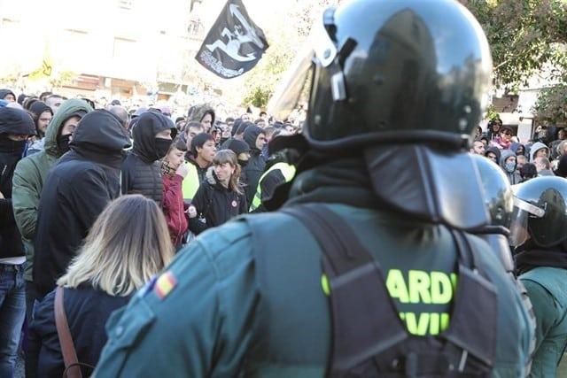 Guardia Civil en Alsasua (Navarra)