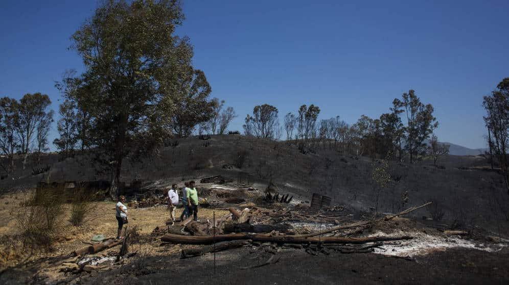 Detienen en Mijas (Málaga) al presunto autor de 8 incendios que ayudaba a apagarlos