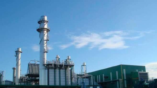 Planta industrial de la papelera Saica.