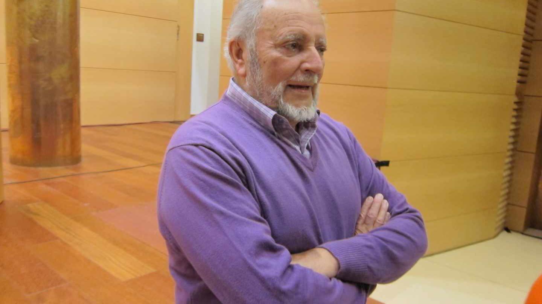 Julio Anguita, en noviembre de 2017.