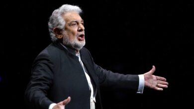Cultura cancela las actuaciones de Plácido Domingo en el Teatro de La Zarzuela