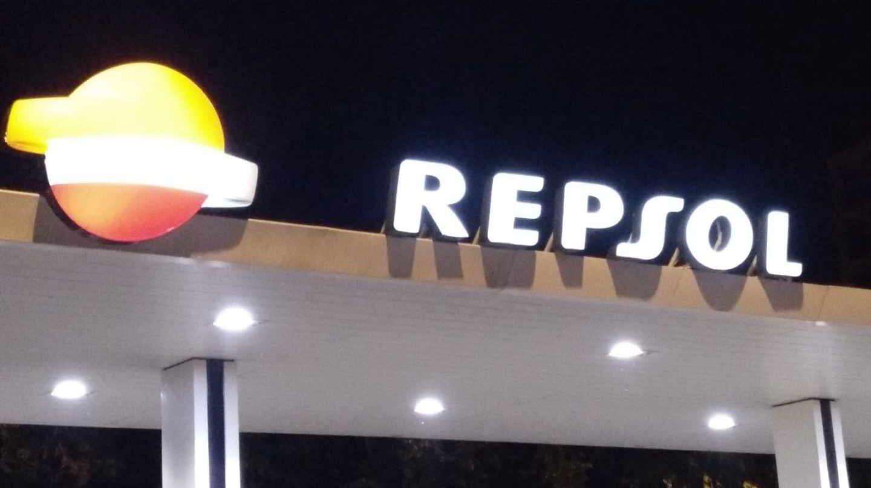 Una gasolinera de la red de Repsol.