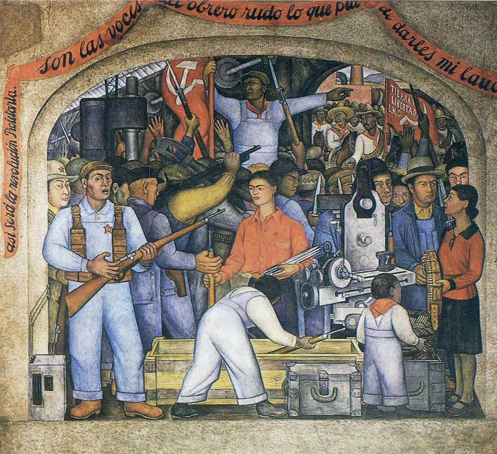 'El Arsenal' de Diego Rivera