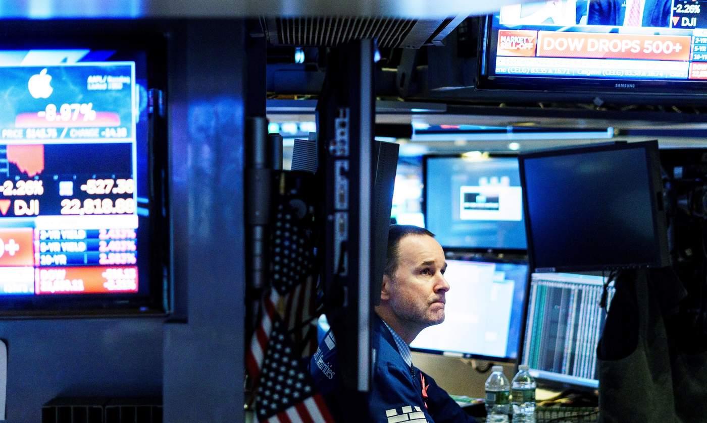 Wall Street sufre su mayor descalabro del año y enciende las alertas de crisis.