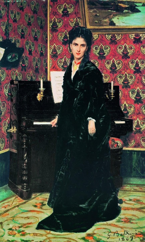 Mary Donegani, 1869